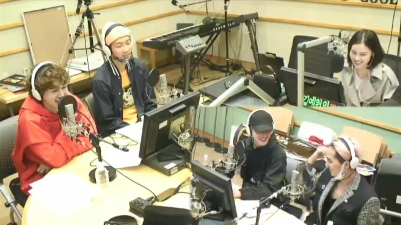 I love getting more savage Jinwoo on these radio appearances but the cute way Mino says dont hit me - - Mino Uh my killing point
