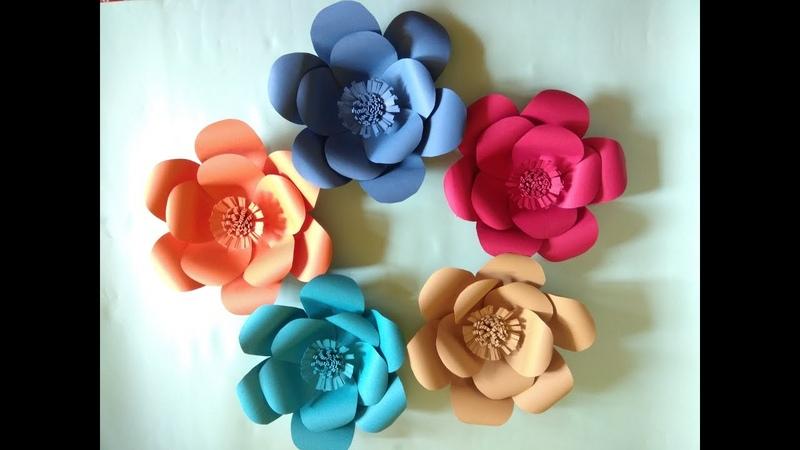 Tutorial Membuat Bunga Backdrop 14 I DIY Tutorial
