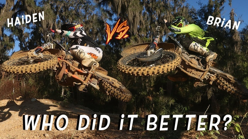 MOST FUN MOTOCROSS TRACK EVER Dangerboy riding at Ronnie Renners!