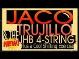 Jaco, Trujillo &amp The JHB 4 String Bass! Joe Hubbard Bass Lessons