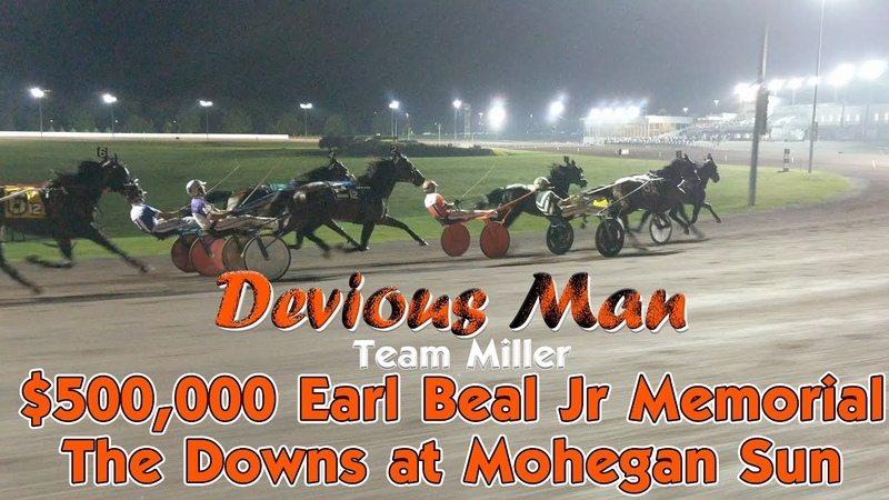 Devious Man 7117 $500,00 Earl Beal Jr Memorial hambo17 harnessracingfz harnessracing