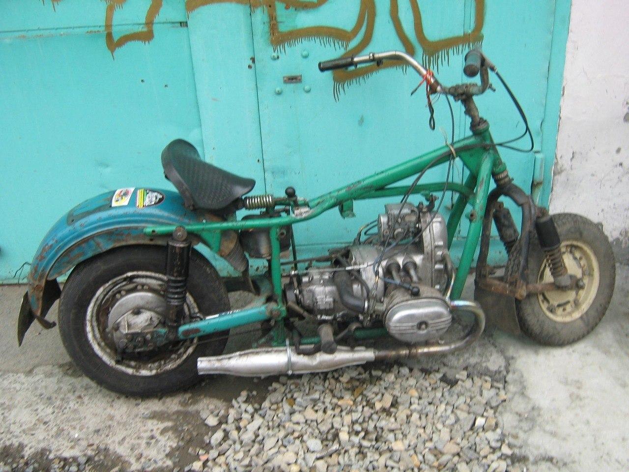 Moto032: Тюнинг мотоцикла минск 65