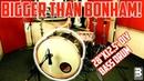 BIGGER THAN BONHAM! | 28x12,5 DIY Bass Drum