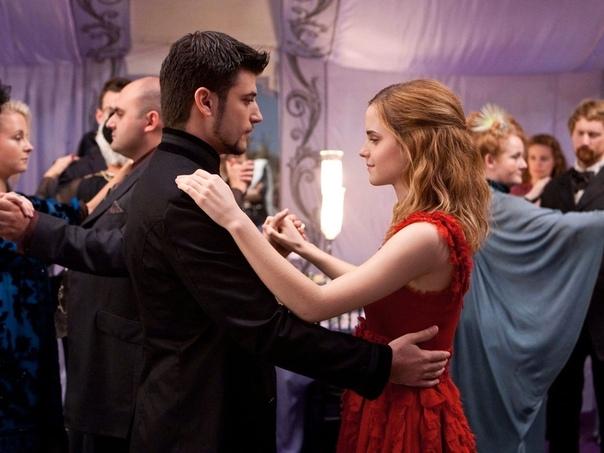 Последний танец Виктора Крама и Гермионы Грейнджер Удаленная сцена из Даров смерти.