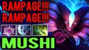 Give Him Rampage! Unstoppable Mushi Nullifier Spectre Dota2