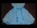 Нарядное белое платье Часть 1 Кокетка attire baby dres