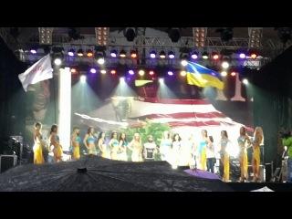 Мисс Бровары 2013   Конкурс   3 Второй конкурс   в купальниках