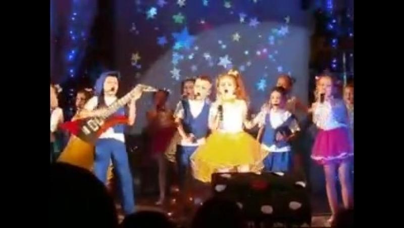 Новый год концерт (2017-2018, Чырвоны прамень, г. Чашники, Новолукомль)