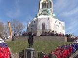 6 мая 2018г.Набережная. Открытие памятника СВ.КН. ВЛАДИМИРУ