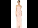 Потрясающе нежное драпированное макси-платье без бретелек из коллекции австралийского бренда Zimmermann (350$). Как вам?