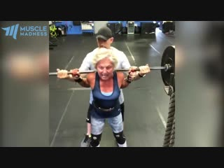 Strongest 70-year-old grandma - mary duffy