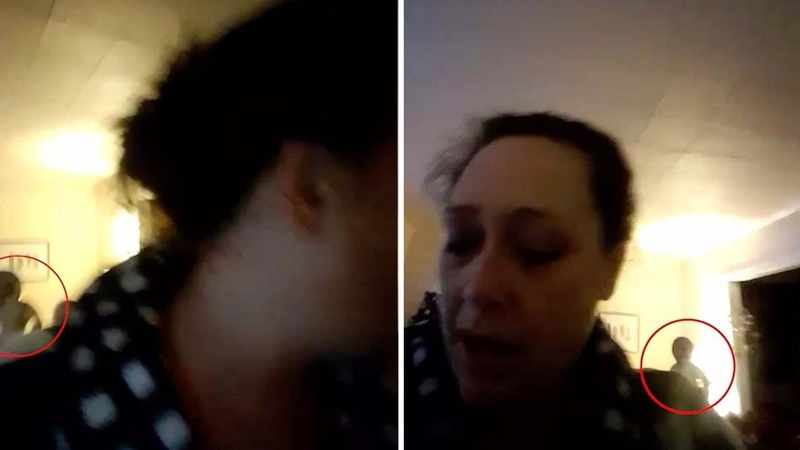Mum Captures Paranormal Figure While On Video Chat To Friend