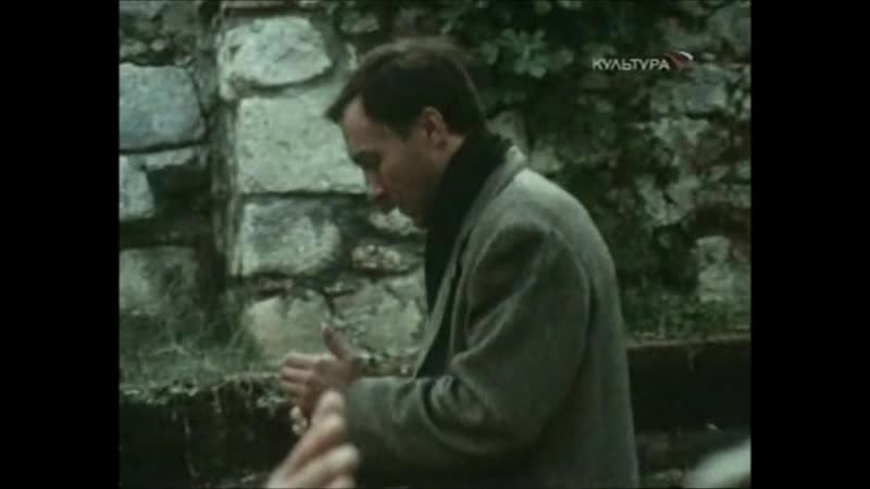 Андрей Тарковский Олег Янковский Ностальгия 1983 Съемки интервью