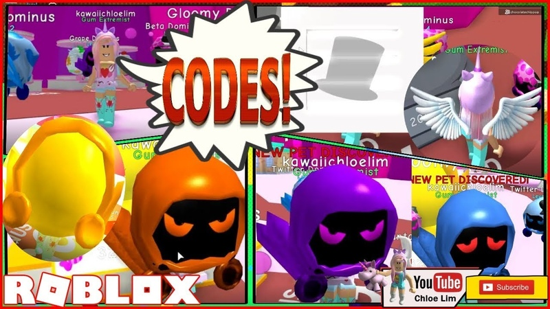 Bubble Gum Simulator! 2 CODES! Sweet Island! Buying Dominus Eggs Winged Hat Box! LOUD WARNING!