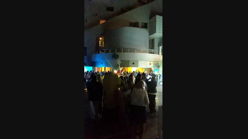 водная вечеринка в Rixos Sungate