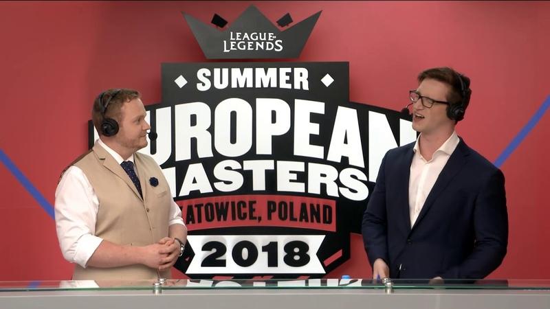 MAD vs. ESG Игра 3 | EU Masters semifinals Summer 2018 | Mad Lions vs. Euronics Gamers (2018)