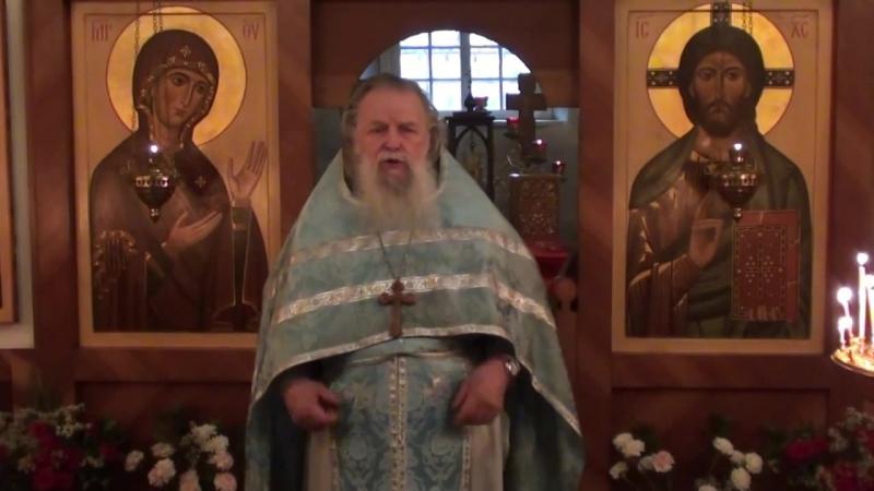 Священник Павел Адельгейм Проповедь на Литургии в Фомино воскресенье в храме свв Жён мироносиц Псков 12 5 2013