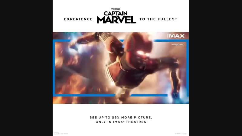 Капитан Марвел | IMAX промо