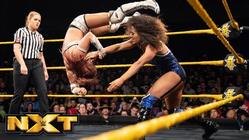 Kairi Sane vs. Vanessa Borne: WWE NXT, July 11, 2018