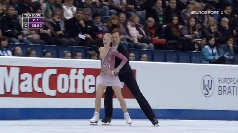Evgenia TARASOVA _ Vladimir MOROZOV - 2016 European Championships - LP