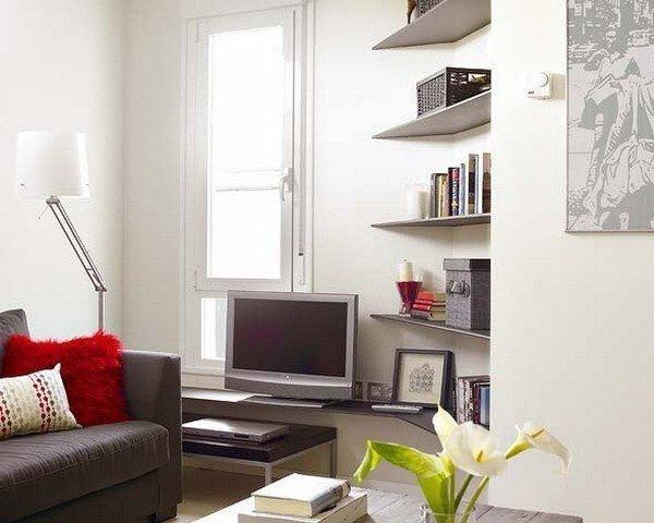 Дизайн двухкомнатной квартиры 45 кв. м