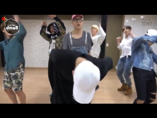 VK mirrored Dance Practice BTS - Ba...Crow Tit) (720p).mp4