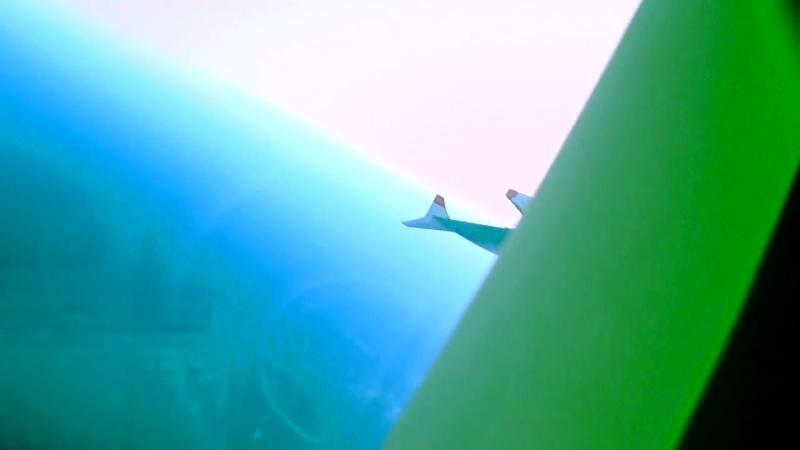 Немножко о теории плоской Земли! Пролетаю над проливом Ламанш (Англия)! Май 2018._00.mp4