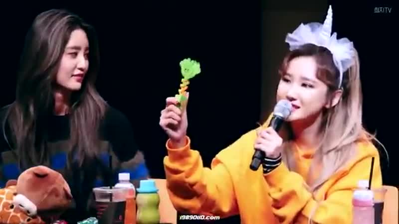 Junghwa and hyojin singing clap by seventeen