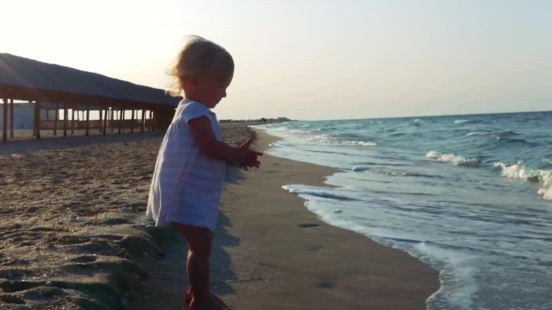 Весна и Крым Первое море
