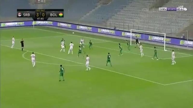 Branislav Ivanović just scored a proper movie-esque team goal vs Bolivia