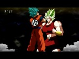 Goku SSJ Blue vs Kale  - Dragon Ball Super Episode 100