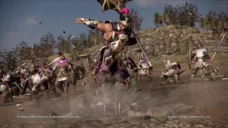 Персонаж Hua Xiong из дополнения Additional Scenarios Pack для игры Dynasty Warriors 9!