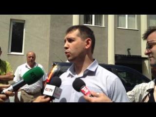 Комментарий следователя в морге больницы Калинина, Донецк