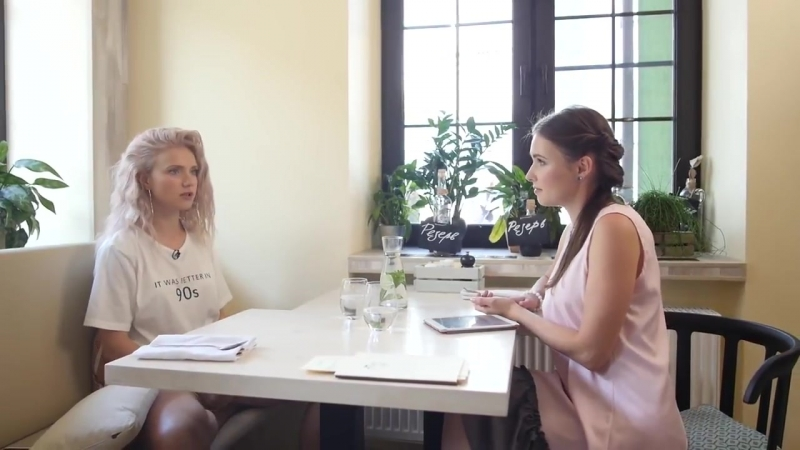 Ирина Тонева - интервью для телеканала 1 Вегетарианский