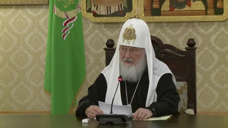 Патриарх Кирилл о телеканале СПАС и программе «Женская половина»