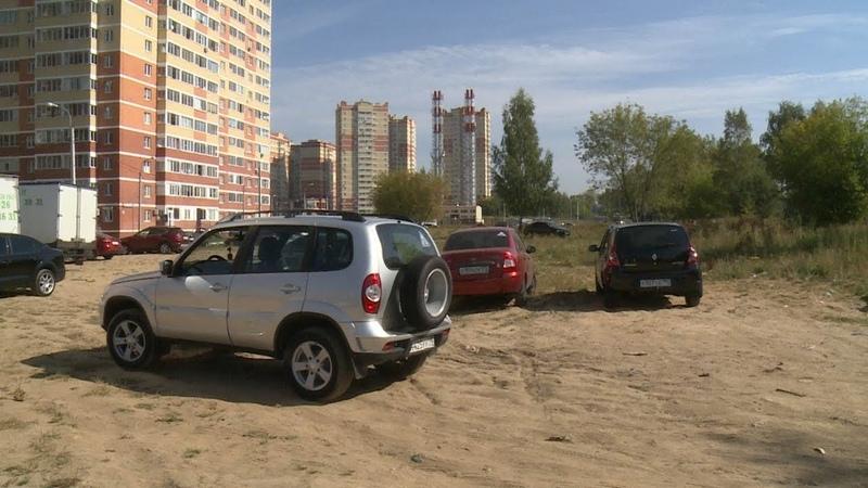 Рейд «Парковка на газонах» проведен отделом №9 Госадмтехнадзора