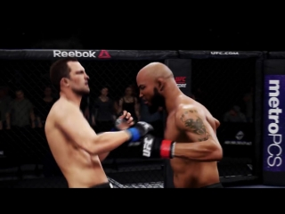 EA SPORTS UFC 3 UFC 221 Simulation - Romero vs Rockhold