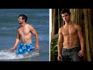 Taylor Lautner- Hot Hunky Man-Meat Beach Pics!