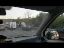 ДТП на трассе Симферополь Керчь На выезде из Грушевки перевернулся грузовик