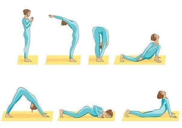 Йога для здоровой спины (1 фото) - картинка