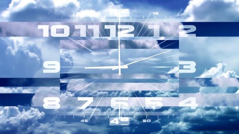 Утренние часы Первого Канала (Часовая версия)