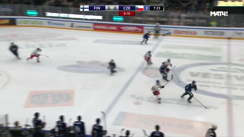 Euro Hockey Tour 2018-19. Channel One Cup. Finland - Czech Republic 13.12 19.45
