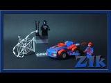 LEGO Juniors 10665 Spider-Man: Spider-Car Pursuit Venom Лего Обзор