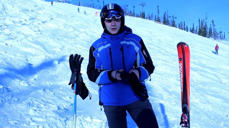 Основные правила безопасности при катании по склонам на горных лыжах.