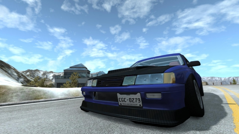 BeamNG Mountain Drift Mark)