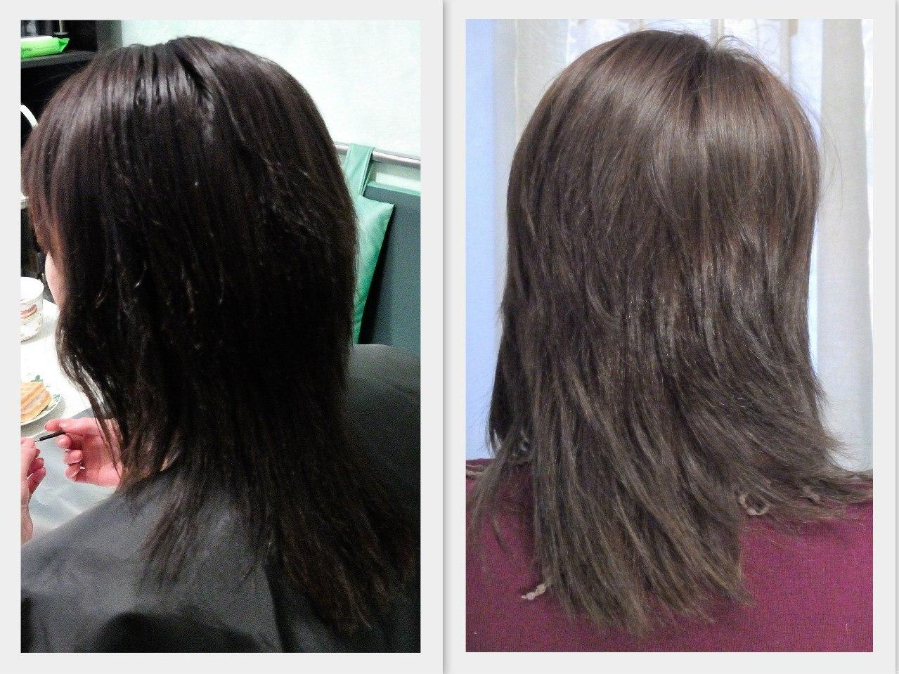 стрижки каскадом на длиные волосы
