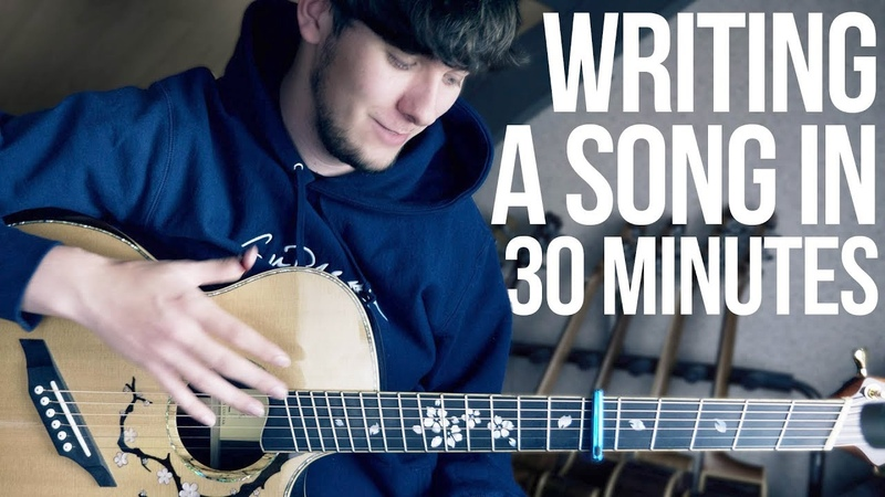 Writing a song in 30 minutes!