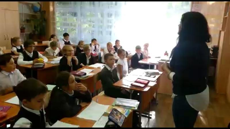 Уроки благотворительности в школе №42, Барнаул, 20 сентября