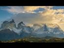 Рассвет в национальном парке Торрес-дель-Пайне, Чили.