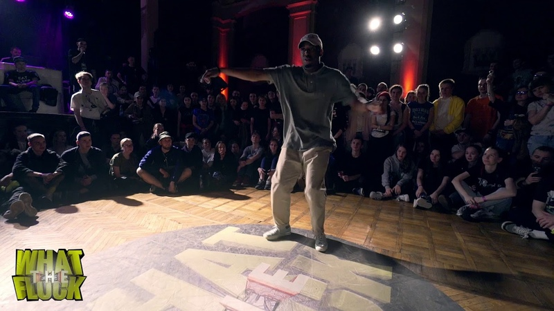 What The Flock vol.5   Hip-Hop 1x1 SemiFinal Jimmy Yudat vs Enzo
